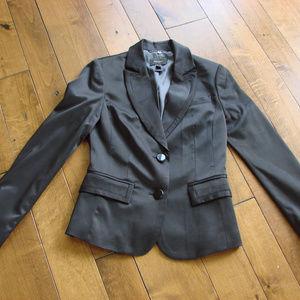 MNG Mango Suit Black Tuxedo Dressy Jacket Blazer